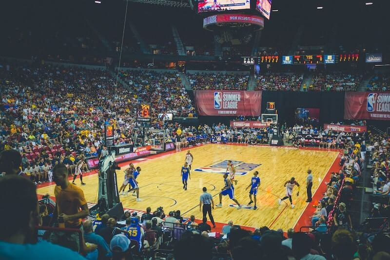 NBA summer league game