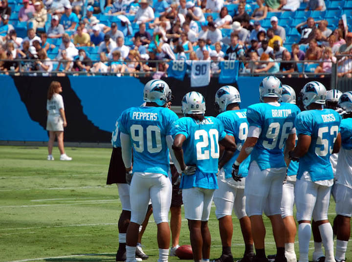 Carolina Panthers Players