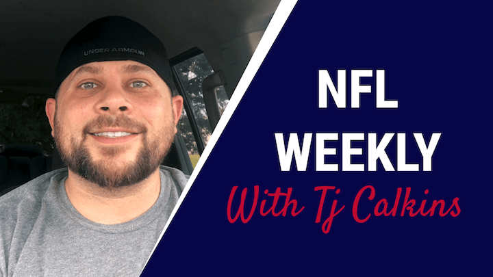 TJ Calkins NFL Weekly