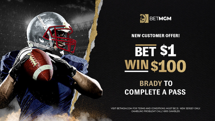 BETMGM Tom Brady Promotion