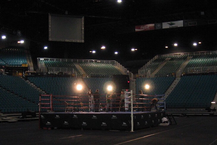 Boxing Ring MGM Grand Las Vegas
