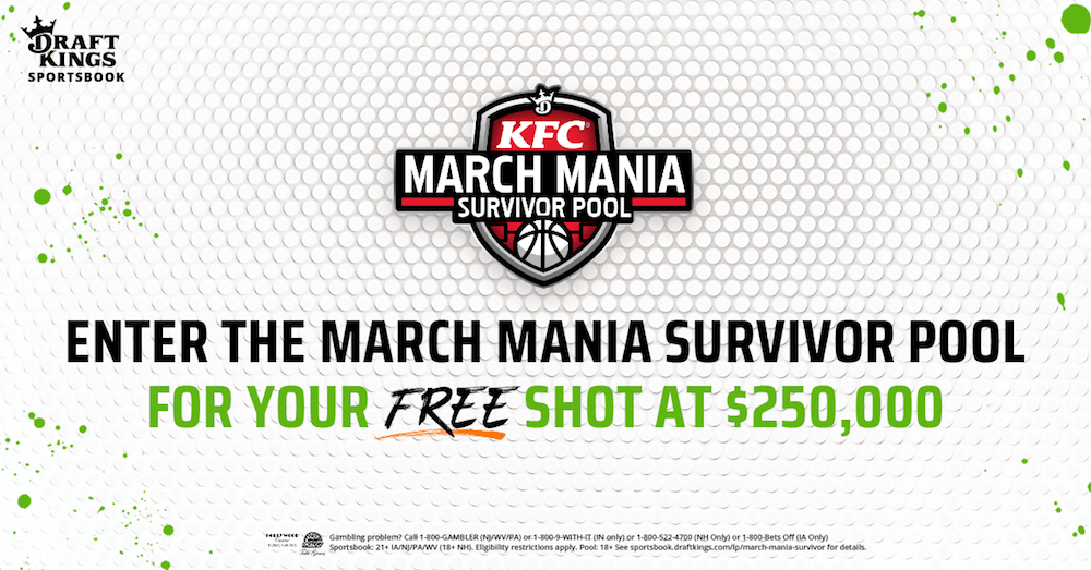 DraftKings Survivor Pool March Madness Promotion