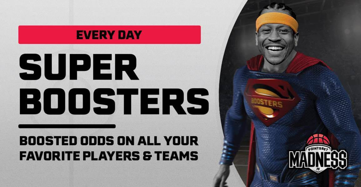PointsBet Madness Super Boosters