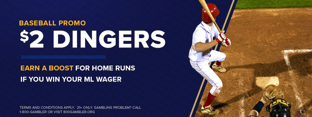 William Hill $2 Dingers MLB Promotion