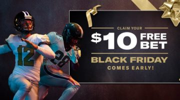 Black Friday Comes Early at BetMGM