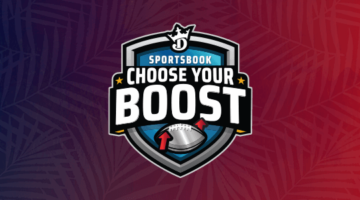 DraftKings Choose your boost